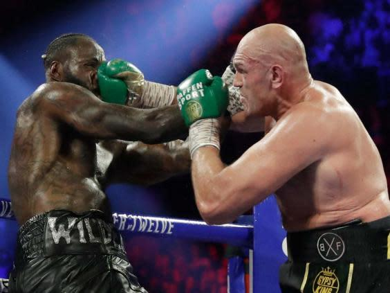 Fury maintains he beat Wilder cleanly (AP)