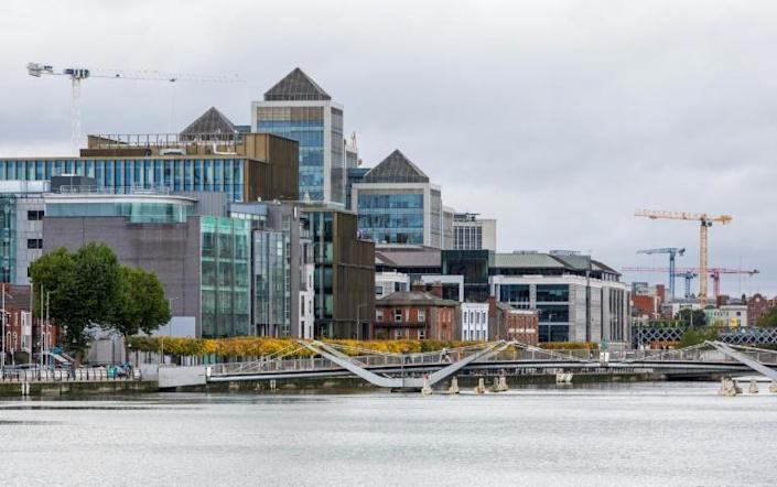 The increased tax rate of 15 percent will only apply to big multinational firms operating in Ireland (AFP/PAUL FAITH)