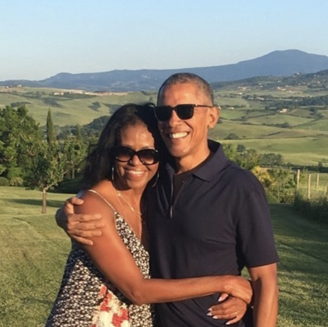 "<p>""Happy Valentine's Day, @MichelleObama,"" the former POTUS wrote. ""You make every day and every place better."" (Photo: <a href=""https://www.instagram.com/p/BfLwpWoHfUo/?taken-by=barackobama"" rel=""nofollow noopener"" target=""_blank"" data-ylk=""slk:Barack Obama via Instagram"" class=""link rapid-noclick-resp"">Barack Obama via Instagram</a>) </p>"