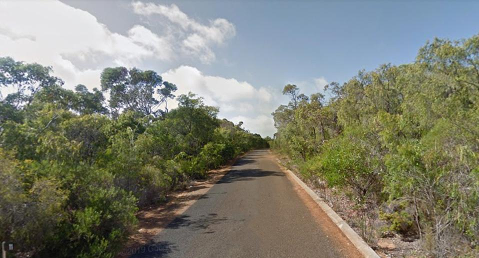 James disappeared from Karli Rise in Yallingup. Source: GoogleMaps