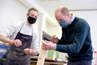 <p>In the Grassmarket Community Project's workshop, which makes furniture from recycled pews and other responsibly-resourced wood, on May 23, 2021 in Edinburgh, Scotland. </p>