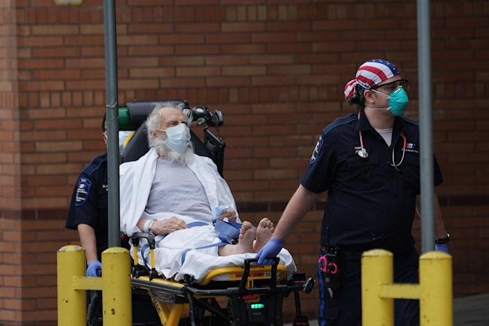 Image: Wyckoff Hospital in Brooklyn (Bryan R. Smith / AFP - Getty Images)