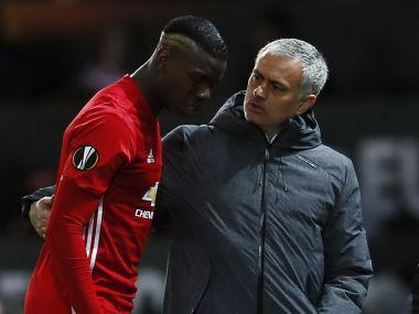 Paul Pogba insisted on Sunday that he has no problems with Manchester United boss Jose Mourinho despite a difficult season which has seen the French star dropped on several occasions.