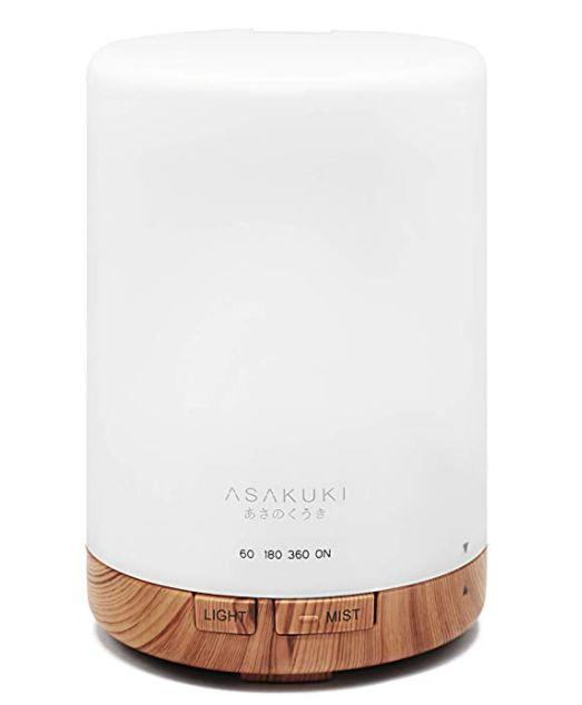 """This diffuser delivers up to 10 hours of vapor, has seven light colors, three settings and an auto shut-off feature. It has a 4.4-star rating and more than 1,500 reviews. <a href=""""https://amzn.to/2Tc2AoG"""" target=""""_blank"""" rel=""""noopener noreferrer"""">Find it for $27 on Amazon</a>."""