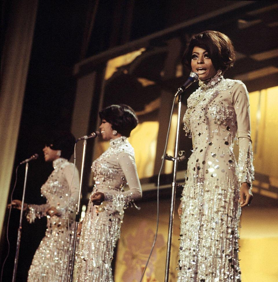"""<p>Since the group's inception, former member Florence Ballard had been seen as the showrunner amongst the women. Ballard not only <a href=""""https://thesupremes.fandom.com/wiki/Florence_Ballard"""" rel=""""nofollow noopener"""" target=""""_blank"""" data-ylk=""""slk:chose the name the Supremes"""" class=""""link rapid-noclick-resp"""">chose the name the Supremes</a>, but also sang lead vocals on many of their first songs. After her departure, Motown changed the group's name to Diana Ross and the Supremes and Ross became the clear lead vocalist in the band. </p>"""