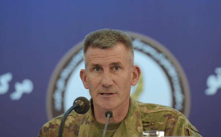 """General John Nicholson, who commands US and NATO forces in Afghanistan, says """"well over 1,000"""" advisors would be closer to the front lines during next year's fighting season"""