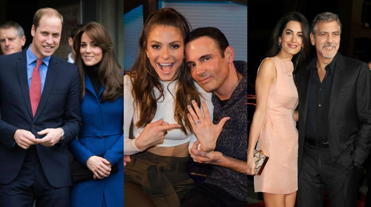 <p>These stars set the bar high when it comes to popping the question.</p>