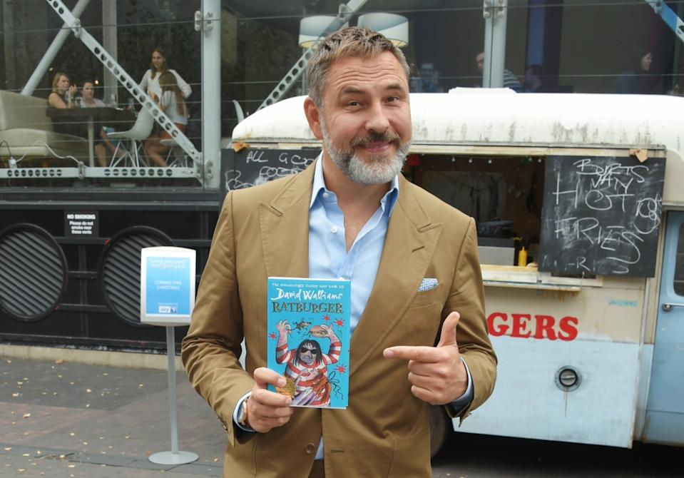 David Walliams has announced that a new ride being built at Alton Towers will be inspired by his children's books (David M. Benett/Getty Images)