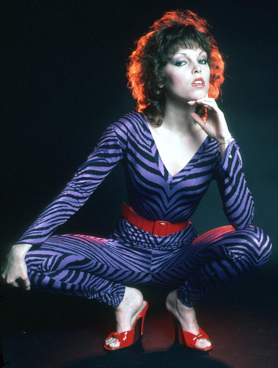 Pat Benatar poses for a portrait in November, 1979 in Los Angeles, California. (Photo: Michael Ochs Archives/Getty Images)