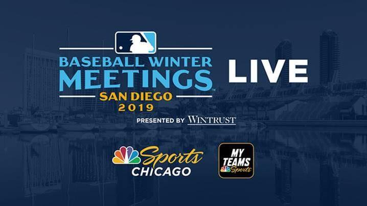 NBC Sports Chicago to provide live multi-platform coverage of 2019 MLB Winter Meetings