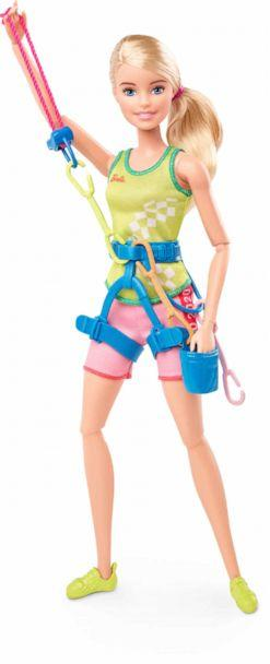 PHOTO: A new doll from the Barbie Olympic Games Tokyo 2020 collection. (Mattel)