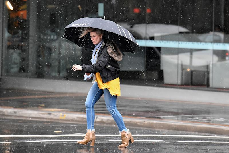 Sydneysiders have rainy weather on the way for the next few days. Source: AAP