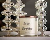 """<p><strong>PrettyHonestCandles</strong></p><p>etsy.com</p><p><strong>$25.00</strong></p><p><a href=""""https://go.redirectingat.com?id=74968X1596630&url=https%3A%2F%2Fwww.etsy.com%2Flisting%2F583161907%2Flemon-lavender-candle-lavender-soy&sref=https%3A%2F%2Fwww.womenshealthmag.com%2Flife%2Fg33503014%2Fsecret-santa-gifts%2F"""" rel=""""nofollow noopener"""" target=""""_blank"""" data-ylk=""""slk:Shop Now"""" class=""""link rapid-noclick-resp"""">Shop Now</a></p><p>You honestly can't go wrong with this v. soothing lemon and lavender-scented candle. Plus, the ivory and copper will totally match your sister's apartment vibe.</p>"""