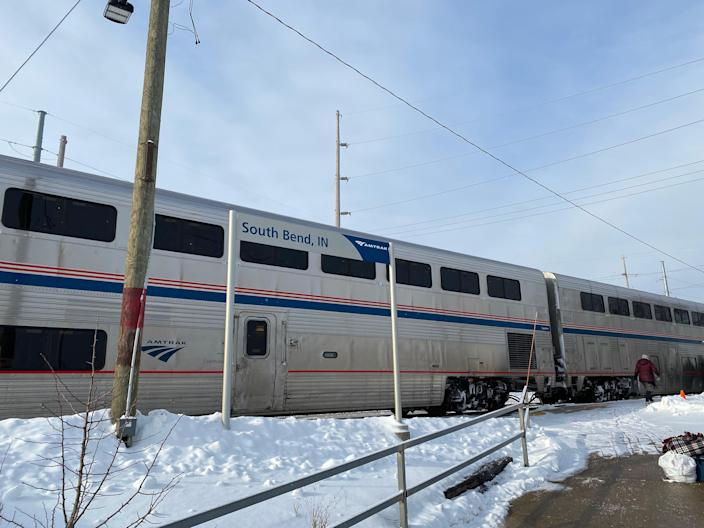 South Bend, Indiana – after 22 hours on a trainRichard Hall/The Independent