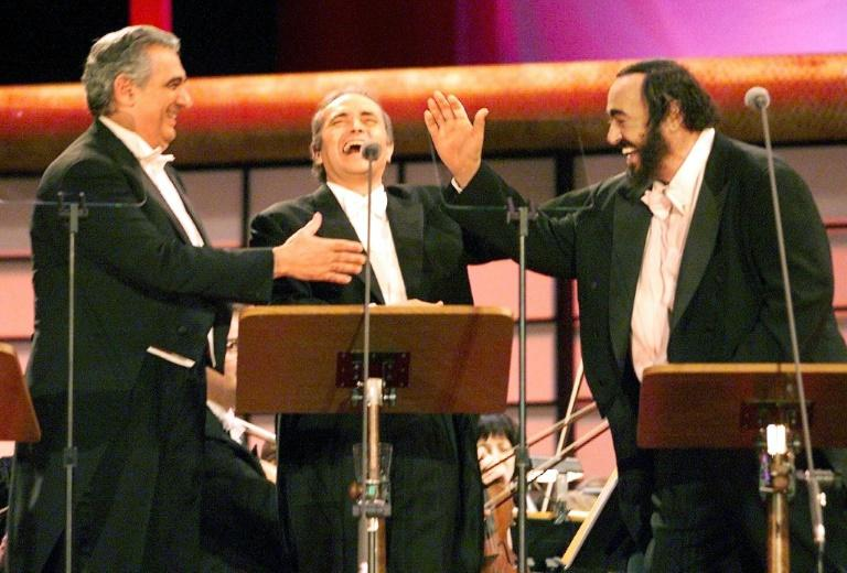 The Three Tenors -- Domingo, Jose Carreras and Luciano Pavarotti -- brought opera to a new generation of fans