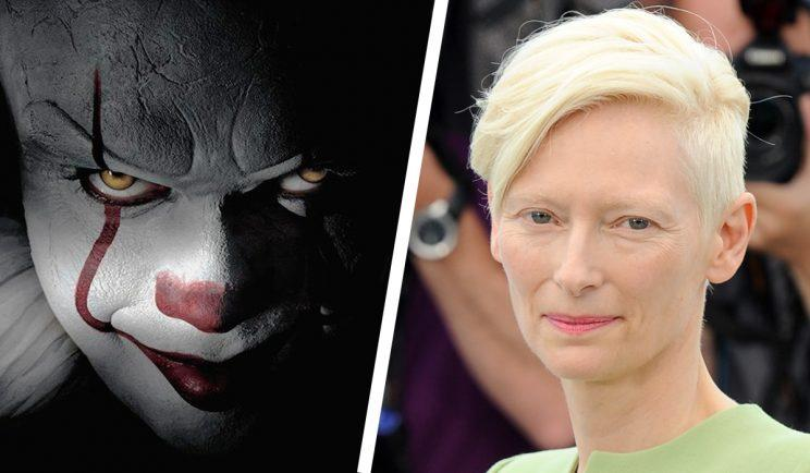 Tilda Swinton was wanted for Pennywise in IT - Credit: Warner Bros / WENN