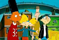 """<p>Gerald is the best best friend there is! To copy this <strong>Hey Arnold!</strong> character, you'll just need a red shirt with the number """"33"""" on it. Pair that with blue jeans and red sneakers, and your work here is done.</p>"""