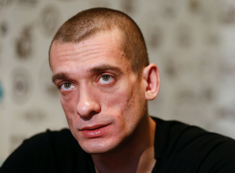 Russian artist under investigation over French sexting row