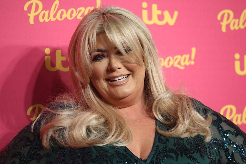 Gemma Collins has revealed her hopes to become pregnant in her forties, pictured in November 2019.(Getty Images)