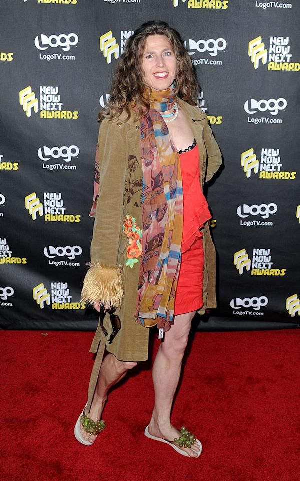 "It's been years since we've seen ""As I Lay Me Down"" songstress Sophie B. Hawkins on the red carpet, and, frankly, it's the last time we want to see her on one 'til she hires a stylist and loses those green, grape-adorned flip flops. Frazer Harrison/<a href=""http://www.gettyimages.com/"" target=""new"">GettyImages.com</a> - June 8, 2010"