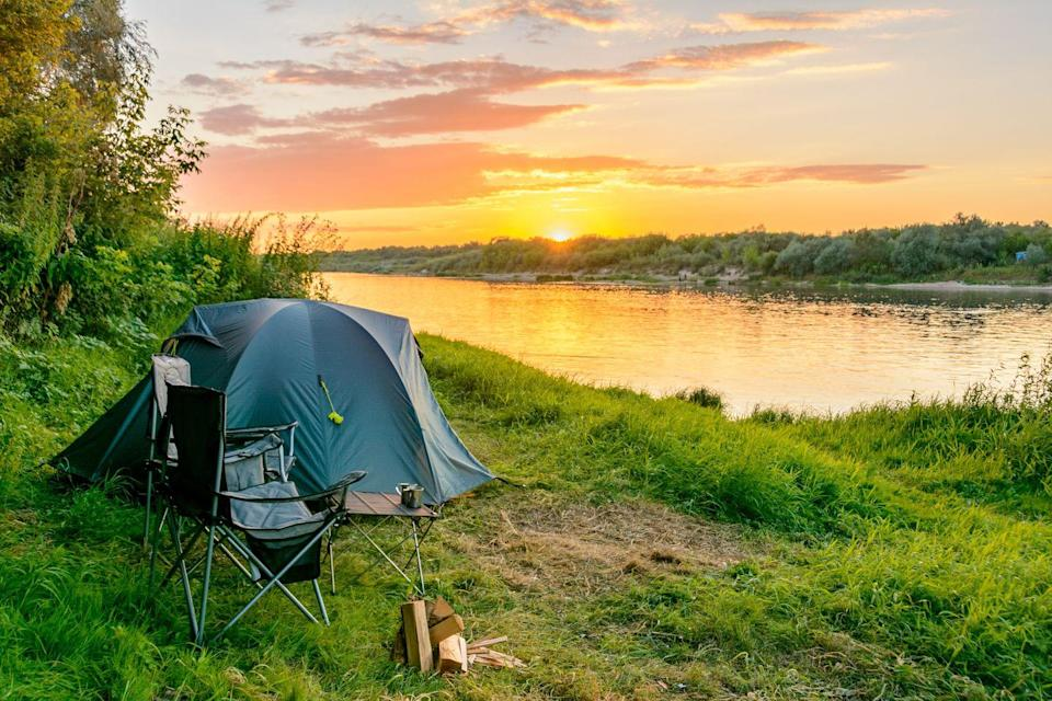 """<p>Before the weather turns too cold, take a camping trip together. Not only are there lots of opportunities for conversation—plus snuggling under the stars at night—but teamwork and having to rely on each other will help strengthen your bond. """"Taking trips that allow partners to get away from distractions of the modern world and focus on one another also allows you to deepen communication skills,"""" says McNeil. """"Since most camping trips don't allow for technology distractions, couples are able to take advantage of their time together allowing for meaningful fireside chats."""" You can also learn to work together as a team, and release endorphins through physical activities like hiking.</p>"""