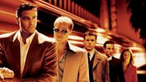 <p><strong><em>Ocean's Eleven</em></strong></p><p>Put George Clooney, Brad Pitt, and Matt Damon in the same movie, wearing some very tailored suits, and you've got yourself a very good time set against the backdrop of a Vegas casino. </p>