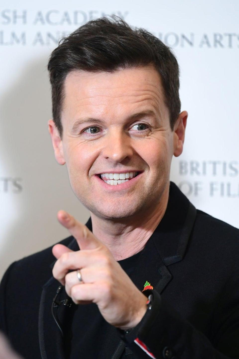 Declan Donnelly's car was targeted (Ian West/PA) (PA Wire)
