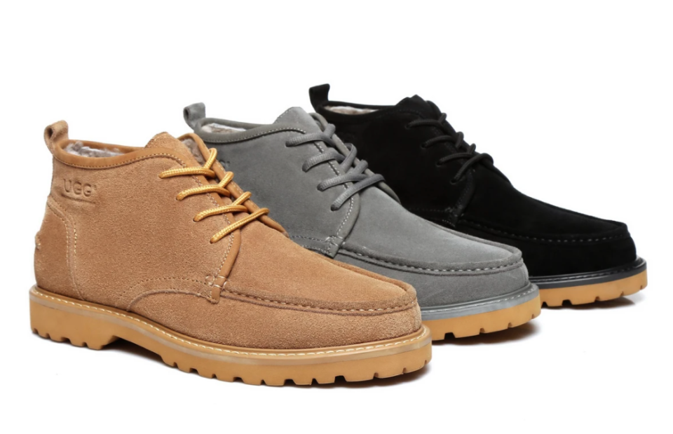 discounted lace up boots from UGG Express