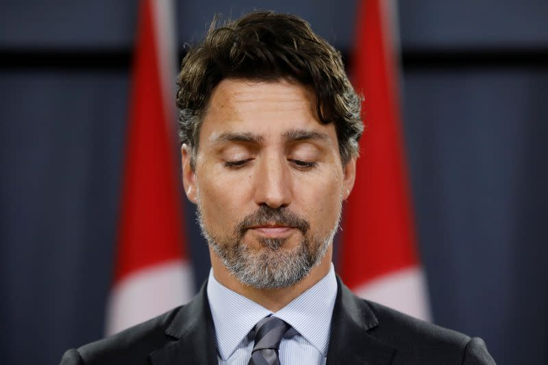 Canada's Trudeau says 'many questions' remain about Iran's shooting down of airliner