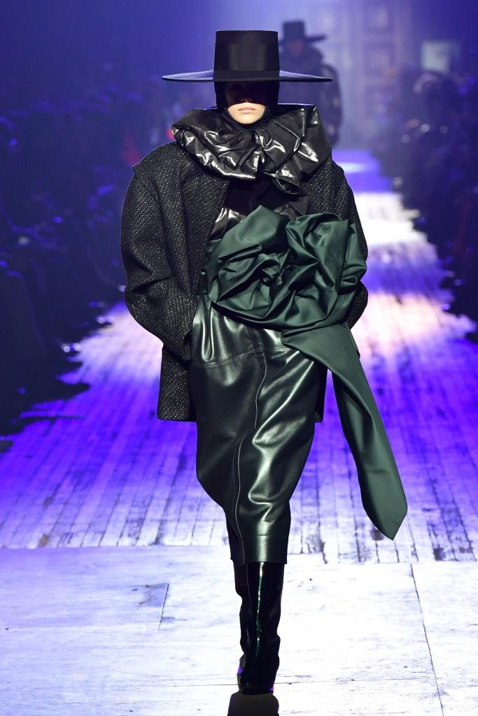 Kaia Gerber walks the runway during the Marc Jacobs Fall 2018 Show at Park Avenue Armory on February 14, 2018 in New York City. Photo courtesy of Getty Images.