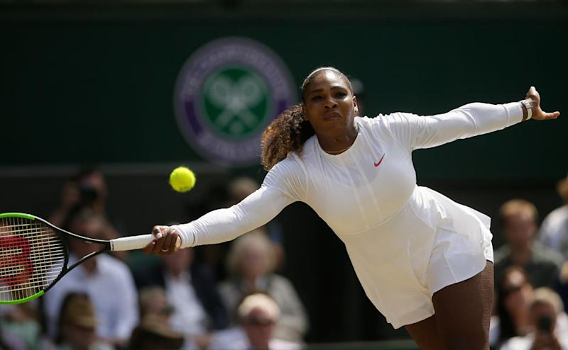 Serena came into the semi-final match against Julia Goerges with a point to prove, and the American got straight to work. Goerges fought back valiantly in the first few games, but soon succumbed to the pressure as Serena won the first set 6-2. AP