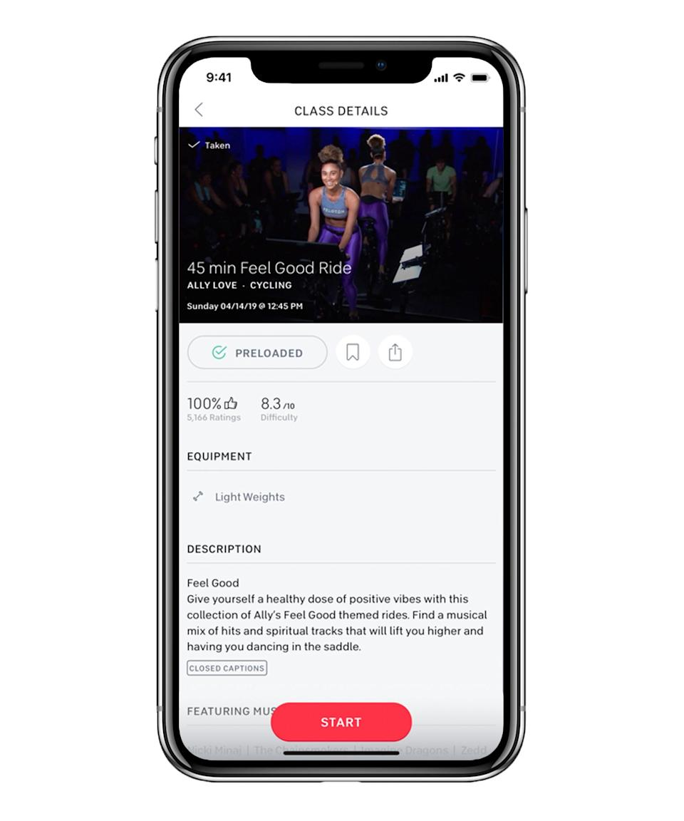 "<h3>Peloton</h3> <br><strong>What it is:</strong> <a href=""https://www.onepeloton.com/app"" rel=""nofollow noopener"" target=""_blank"" data-ylk=""slk:A spin class streaming app"" class=""link rapid-noclick-resp"">A spin class streaming app</a><br><br><strong>How it works:</strong> Okay, you know about the expensive bike. But this app also provides thousands of instructor-led, immersive workouts that can be done with and without equipment. They offer tutorials on strength training, yoga, meditation, stretching, and cardio. Plus, the programs' ""virtual High Fives"" are safe during social distancing. <br><br><strong>Price:</strong> The brand is extending the free trial period on the app from 30 days to 90 days in an effort to make it easier to access wellness content during the Coronavirus outbreak. From there, the app is $12.99 per month.<br><br><br><br><br>"