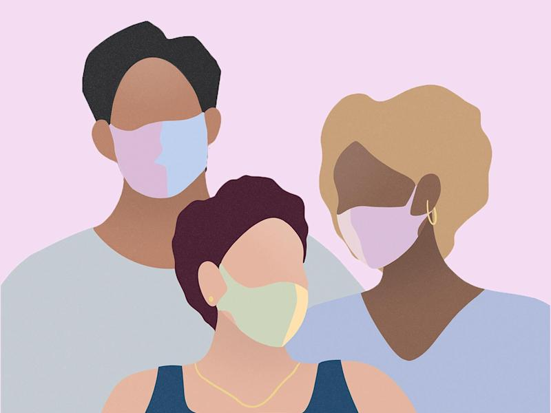 We have all your questions about face masks answered including how to wash them, masks for children and where to buy them: iStock