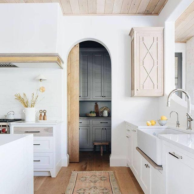 <p>The shape of kitchens is transforming as well. Next year, elegant curves and arches are going to pick up steam, providing a dynamic alternative to the ordinary square doorways and openings of the last few years, says Nolan. Just picture how beautiful and unique a rounded pantry door could be!</p>