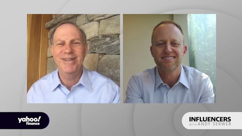 """Chase Koch, president of venture capital firm Koch Disruptive Technologies, appears on """"Influencers with Andy Serwer."""""""