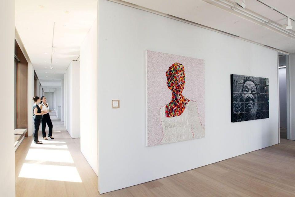 """<p> Emmanuel Perrotin began showing works of art in his Paris apartment at the age of 21. Little did he know this would be the origins of the most celebrated French galleries of all time. <a href=""""https://www.perrotin.com/"""" rel=""""nofollow noopener"""" target=""""_blank"""" data-ylk=""""slk:Galerie Perrotin"""" class=""""link rapid-noclick-resp"""">Galerie Perrotin</a> represents more than 56 artists, including renowned artists Takashi Murakami and Sophie Calle. In recent years, the gallery has ventured into different artistic avenues by collaborating with musicians such as Pharrell Williams.<em><br></em></p><p><em>Locations include Paris, Hong Kong, Seoul, and Shanghai. </em></p>"""