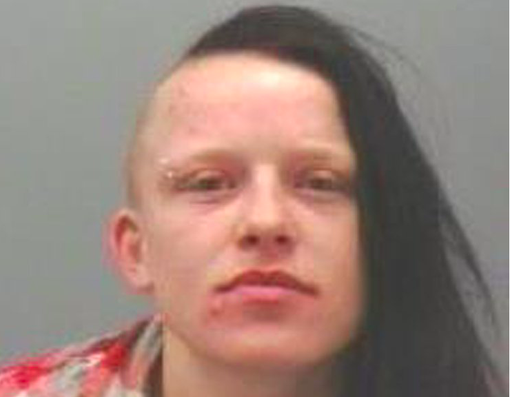 <em>Carolann Gallon has been attacked by inmates who discovered why she was in prison (Northumbria Police)</em>