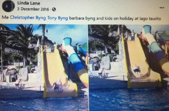 Linda Lane, 36, posted pics of the trip on Facebook. (Facebook)