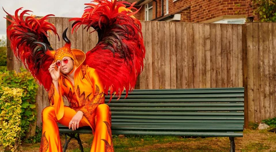 The new release chronicles Elton John's life from his fractured childhood through a turbulent 20-year period which was dominated by alcohol and drug abuse. Photo: Paramount Pictures/Rocketman