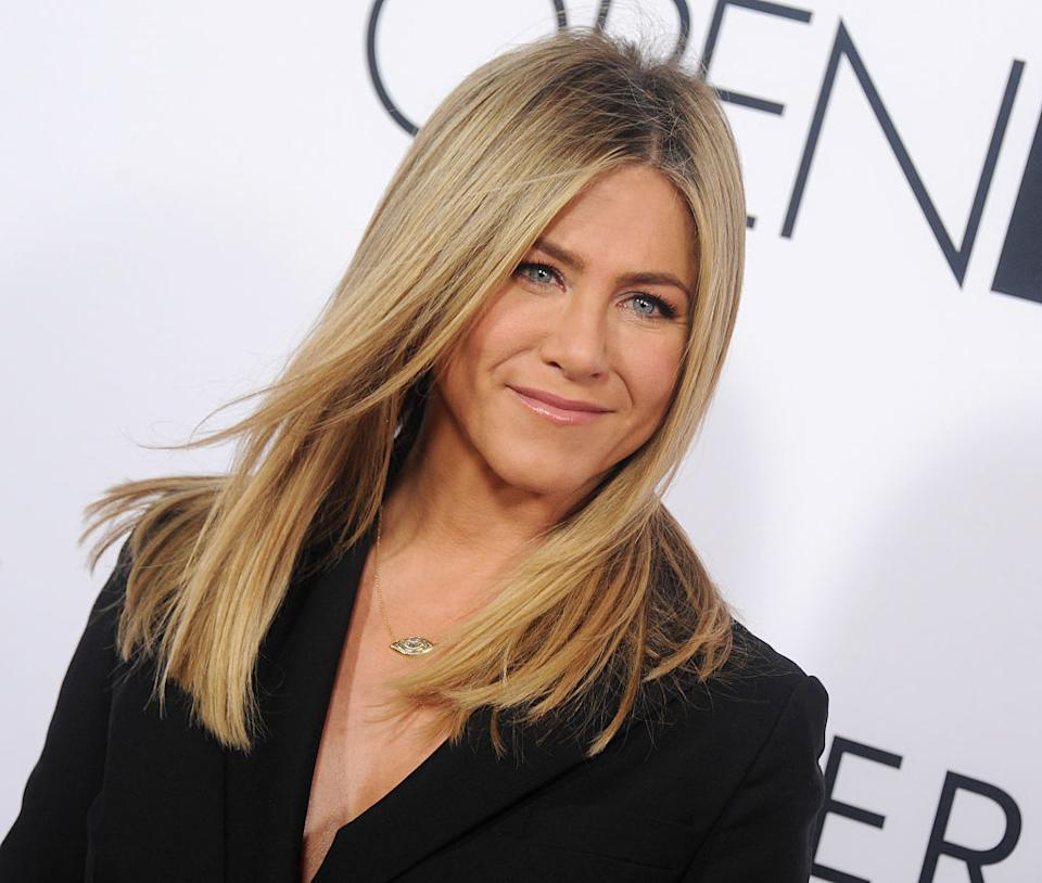 Jennifer Aniston's beloved Hanky Panky underwear are a shopper-approved fall addition to your underwear drawer. (Image via Getty Images)