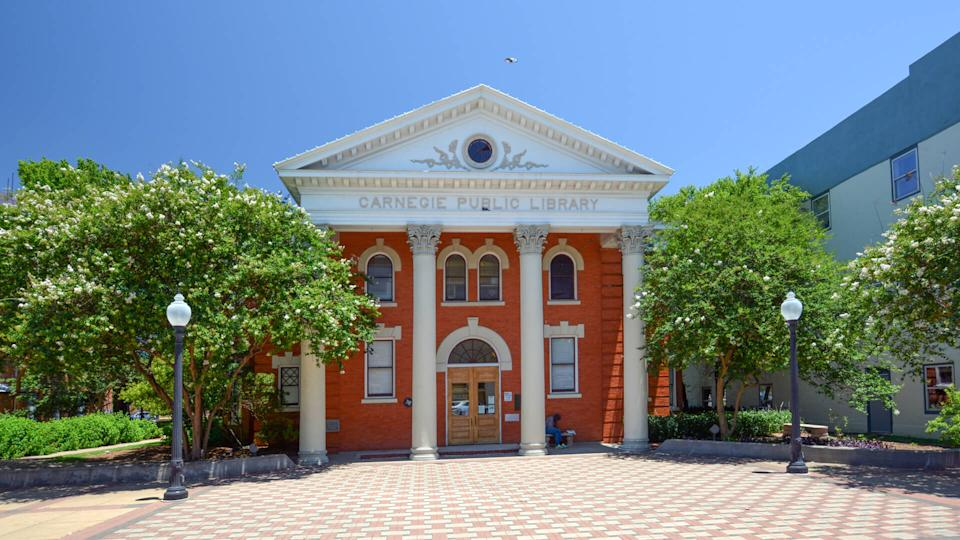 Carnegie Library in Bryan, Texas