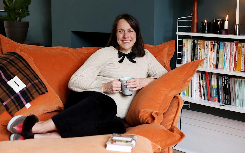 Jessica Salter: 'Perhaps this is meditation lite, but who cares? It's got me started' - Clara Molden for The Telegraph