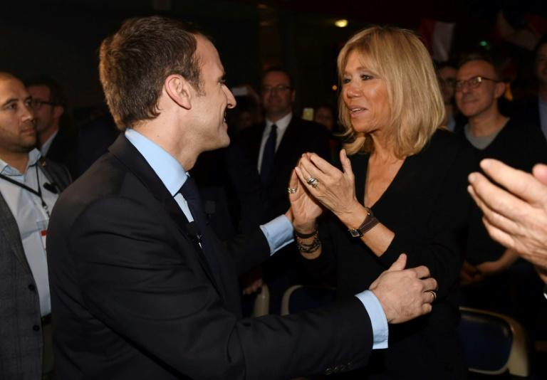 Macron's relationship with his wife, Brigitte Trogneux, has entranced Paris society