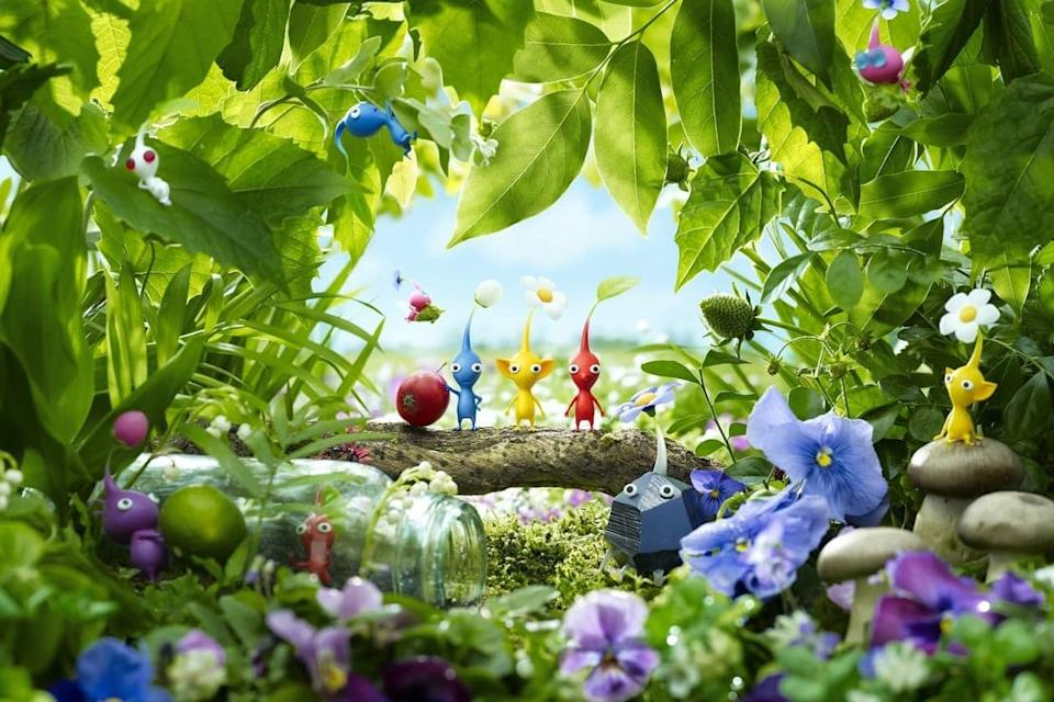 Pikmin 3 Deluxe will be coming to Switch on October 30: Nintendo