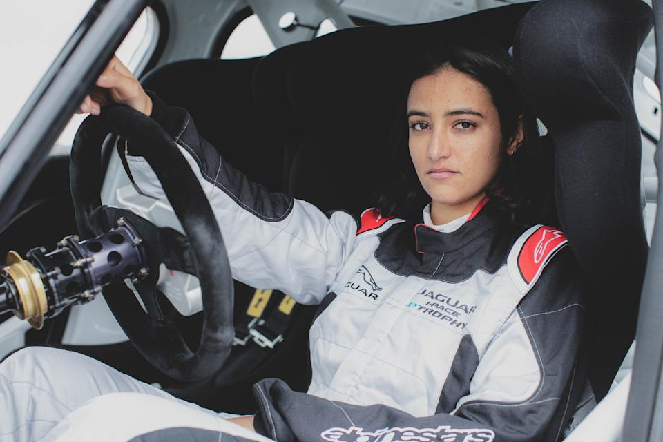 Reema Juffali will compete in the all-electric Jaguar I-PACE eTROPHY series.