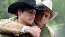 """<p>Both Heath Ledger and Jake Gyllenhaal earned Academy Award nominations for their depiction of two cowboys who conduct an affair in secret in the wilds of Wyoming. (They lost, but director Ang Lee brought home the award.) </p><p><a class=""""link rapid-noclick-resp"""" href=""""https://www.amazon.com/Brokeback-Mountain-Heath-Ledger/dp/B000I9TXK6/?tag=syn-yahoo-20&ascsubtag=%5Bartid%7C10055.g.30416771%5Bsrc%7Cyahoo-us"""" rel=""""nofollow noopener"""" target=""""_blank"""" data-ylk=""""slk:WATCH ON AMAZON"""">WATCH ON AMAZON</a> <a class=""""link rapid-noclick-resp"""" href=""""https://go.redirectingat.com?id=74968X1596630&url=https%3A%2F%2Fitunes.apple.com%2Fus%2Fmovie%2Fbrokeback-mountain%2Fid293294355&sref=https%3A%2F%2Fwww.goodhousekeeping.com%2Flife%2Fentertainment%2Fg30416771%2Fbest-romantic-movies%2F"""" rel=""""nofollow noopener"""" target=""""_blank"""" data-ylk=""""slk:WATCH ON ITUNES"""">WATCH ON ITUNES</a></p>"""