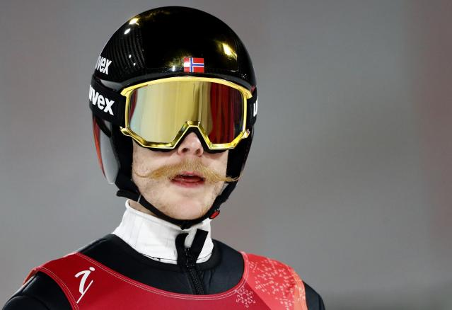 Ski Jumping - Pyeongchang 2018 Winter Olympics - Men's Large Hill Individual Final - Alpensia Ski Jumping Centre - Pyeongchang, South Korea - February 17, 2018. Robert Johansson of Norway. REUTERS/Dominic Ebenbichler