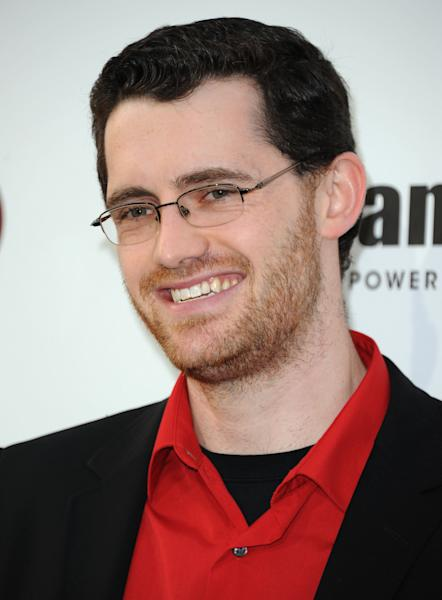 "FILE - In this Dec. 7, 2012 file photo, Austin Wintory arrives at Spike's 10th Annual Video Game Awards at Sony Studios, in Culver City, Calif. Wintory's nomination for the artsy PlayStation 3 game ""Journey"" marks the first time a game score has been nominated for a Grammy. Wintory is facing John Williams and his score for ""The Adventures Of Tintin"" at the Feb. 10, 2013 ceremony, as well as the scores to ""The Artist"" by Ludovic Bource, ""Hugo"" by Howard Shore, ""The Dark Knight Rises"" by Hans Zimmer and ""The Girl With The Dragon Tattoo"" by Trent Reznor and Atticus Ross. (Photo by Richard Shotwell/Invision/AP, File)"