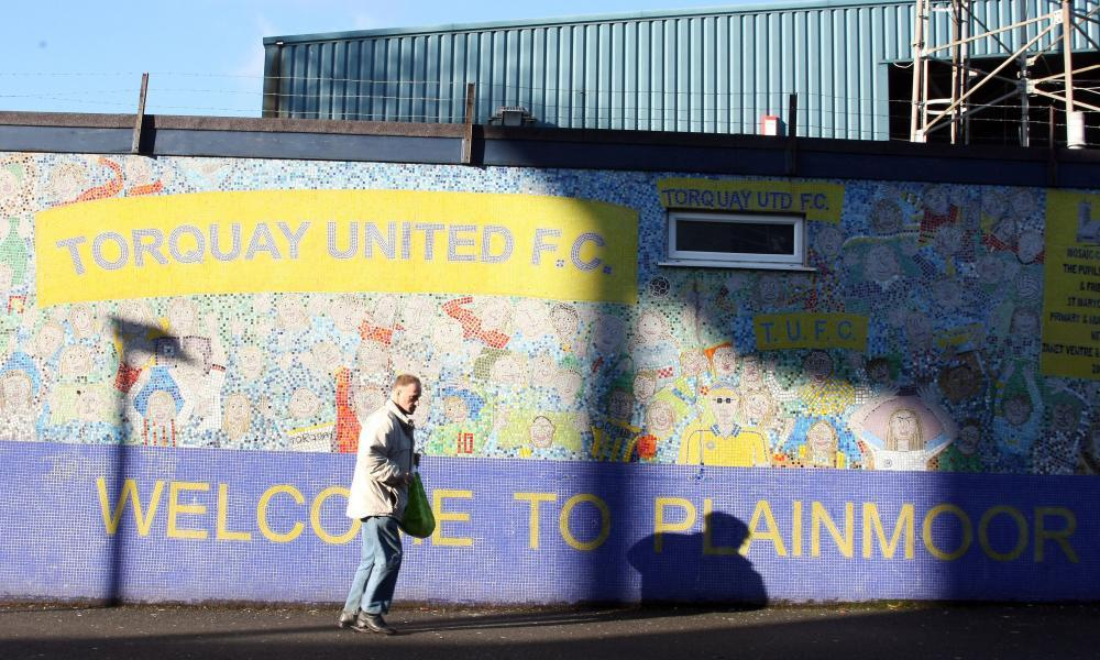 Torquay United fans fear relegation and losing their home of 96 years