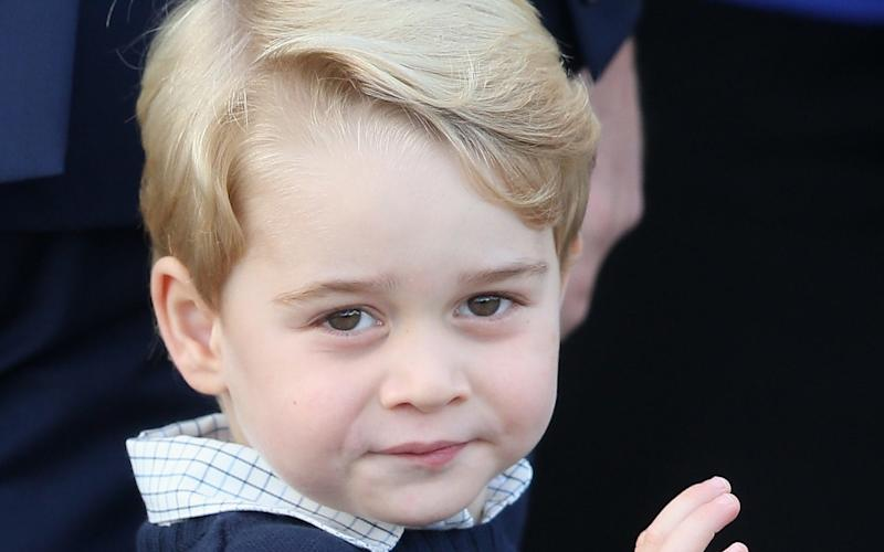 Prince George can already count to ten in Spanish. - 2016 Getty Images